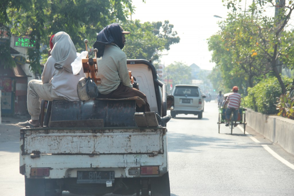 Another day on the roads of Surabaya